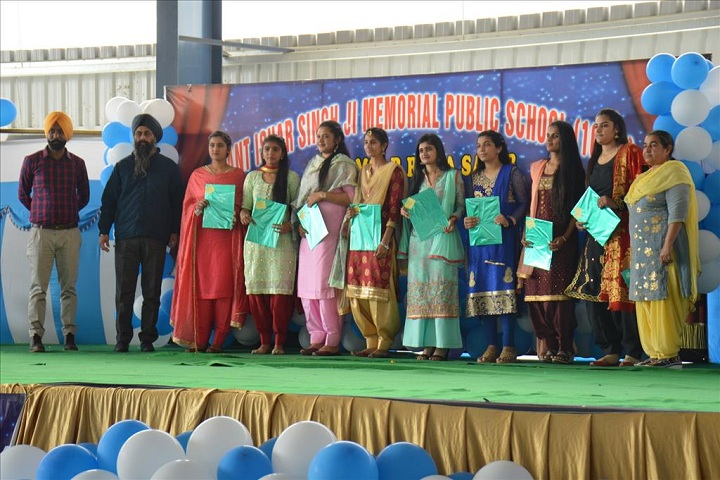 Sant Ishar Singhji Memorial Public School-Farewell