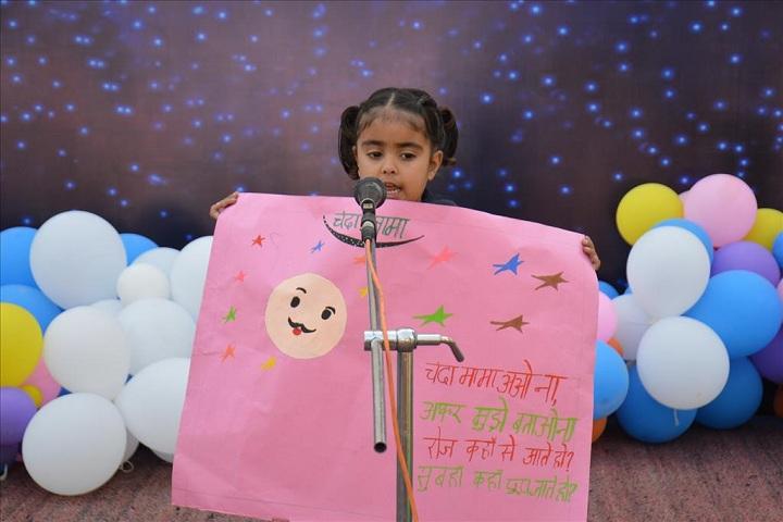 Sant Ishar Singhji Memorial Public School-Hindi poetry competition