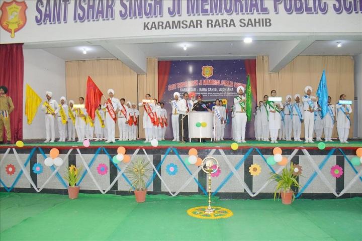 Sant Ishar Singhji Memorial Public School-Investiture ceremony