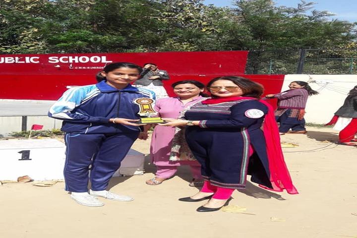 Sant Isher Singh Public School-Award Ceremony