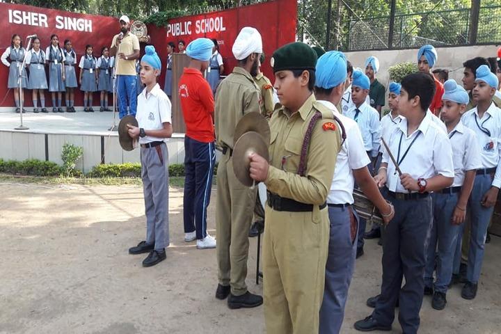 Sant Isher Singh Public School-Band Troop