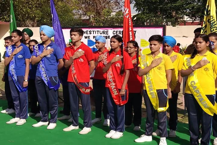 Sant Isher Singh Public School-Investiture Ceremony