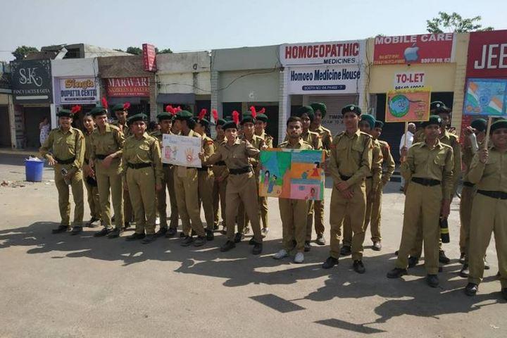 Sant Isher Singh Public School-NCC