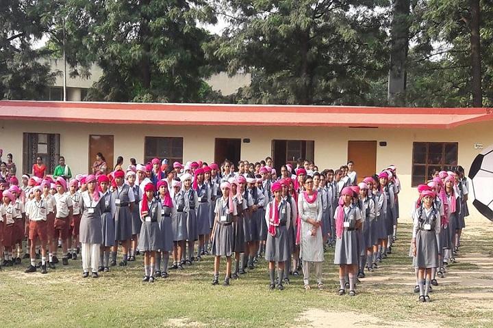 Sant Isher Singh Public School-Assembly