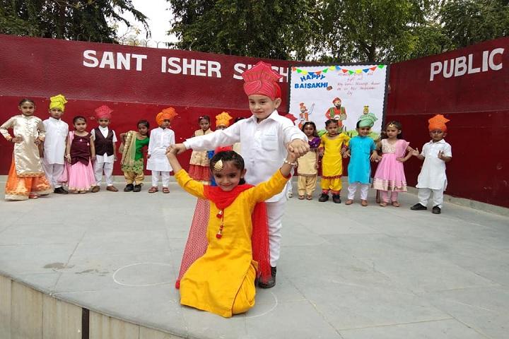 Sant Isher Singh Public School-Baisakhi