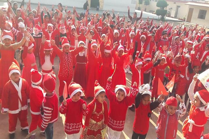 Sant Isher Singh Public School-Christmas Celebrations