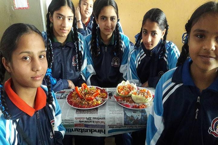 Sant Isher Singh Public School-Food Stalls