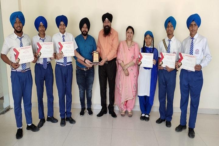 Sant Pranpal Singh Convent School-Merit Students