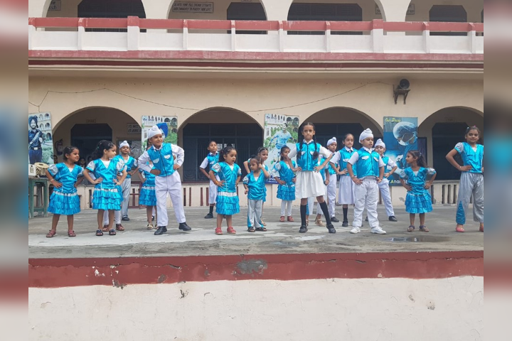 Dancing Activity on Annual Day