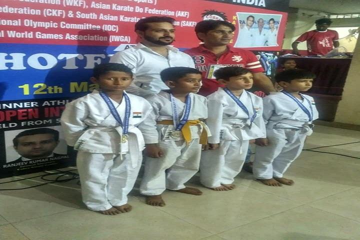 Santoor International Public School-Karate