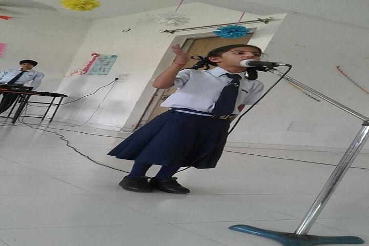 Santoor International Public School-Singing Competition
