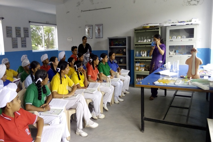 Sapt Sring Public School-Biology Lab