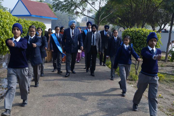 Sapt Sring Public School-Investiture Ceremony