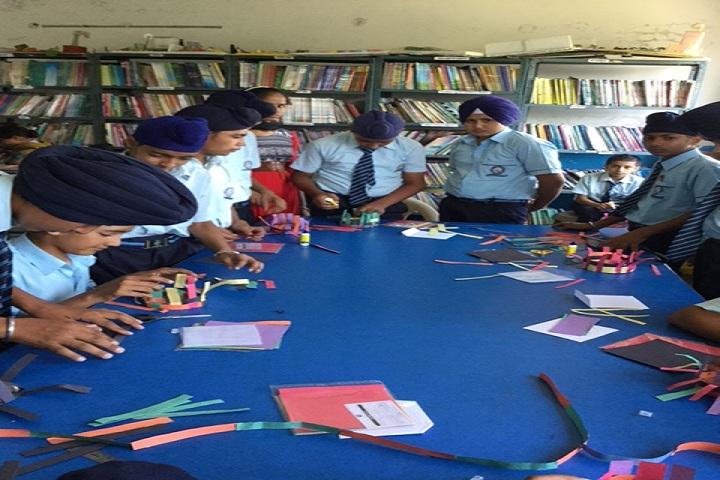 Sapt Sring Public School-Library