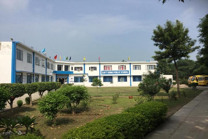 Sapt Sring Public School-Campus