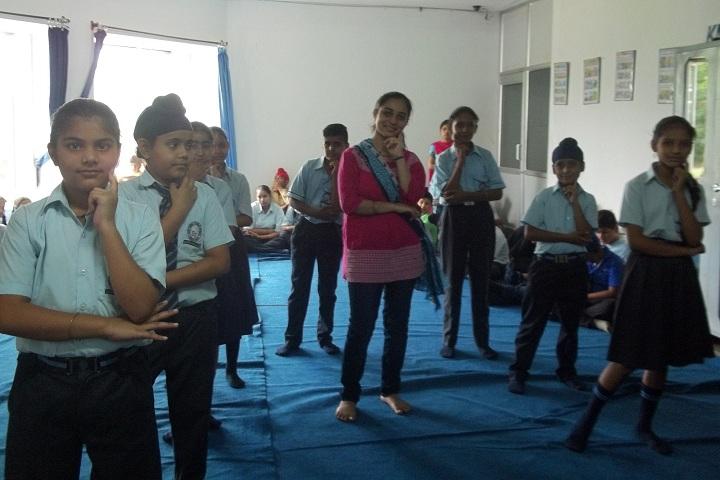 Sapt Sring Public School-Dance Room
