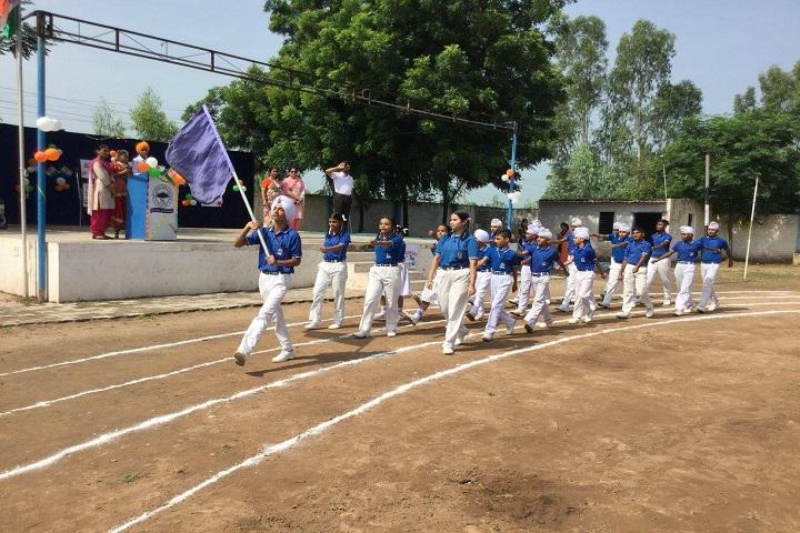 Sapt Sring Public School-independence day parade