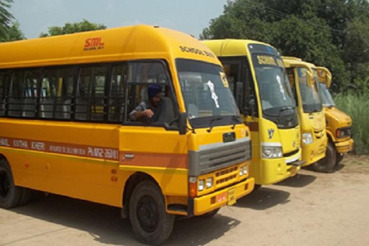 Sapt Sring Public School-Transport