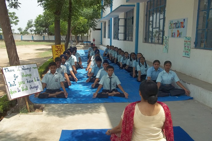 Sapt Sring Public School-Yoga