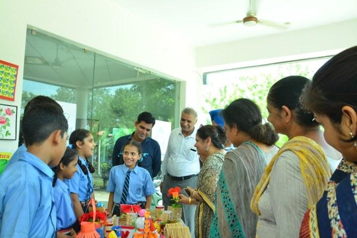 Saransh International School-School Exhibition