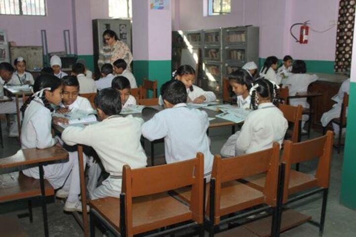 Sarvhitkari Senior Secondary Vidya Mandir-Library