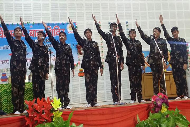 Sarvhitkari Vidya Mandir-Independence Day