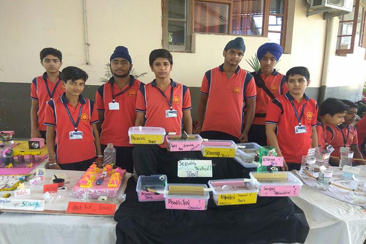 Sarvhitkari Vidya Mandir-Science Exhibition