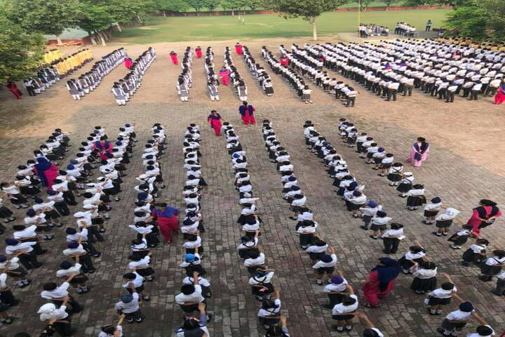 Sarvottam Academy-Morning Assembly
