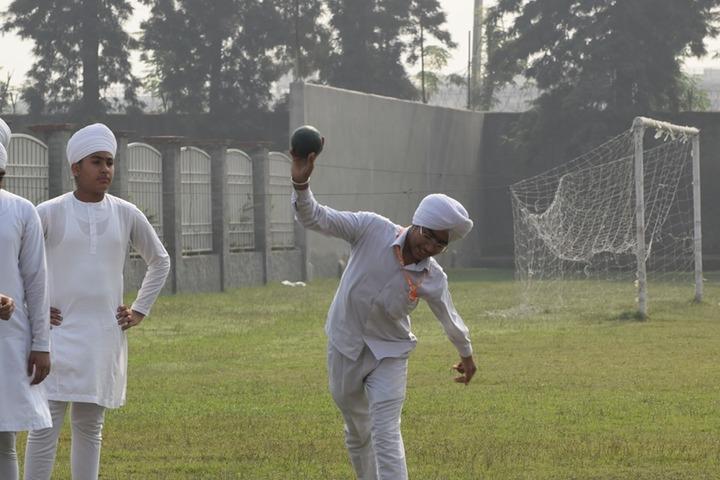Satguru Partap Singh Academy-Shotput