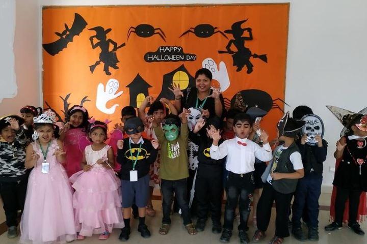 Arbor International School-Halloween Day