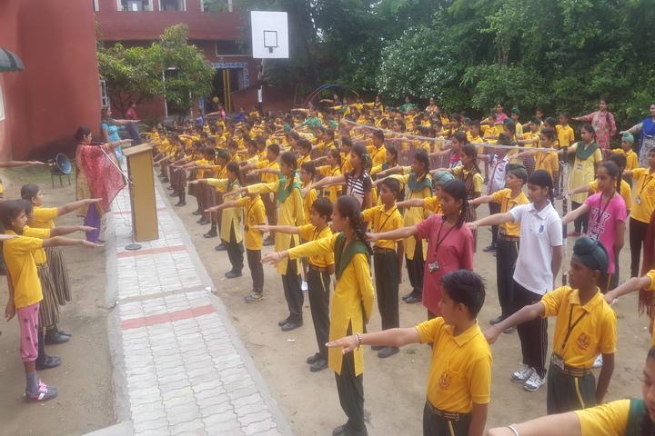 Shaheed Babu Singh Public School-Assembly