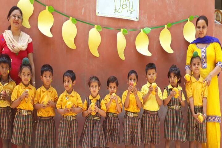 Shaheed Babu Singh Public School-Mango Day