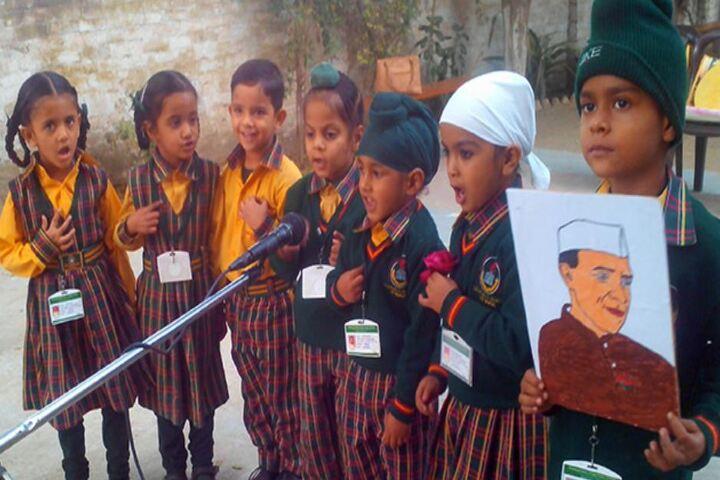 Shaheed Babu Singh Public School-Singing