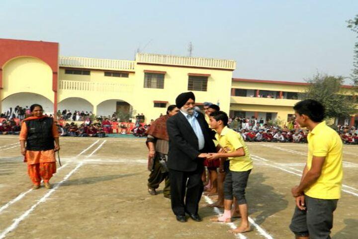 Shaheed Darshan Singh Pheruman Public School-Sports