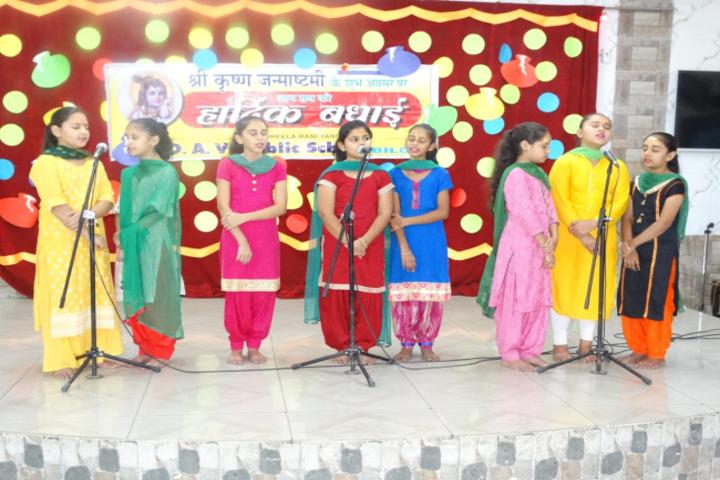 Sheela Rani Tangri Dav Public School-Singing