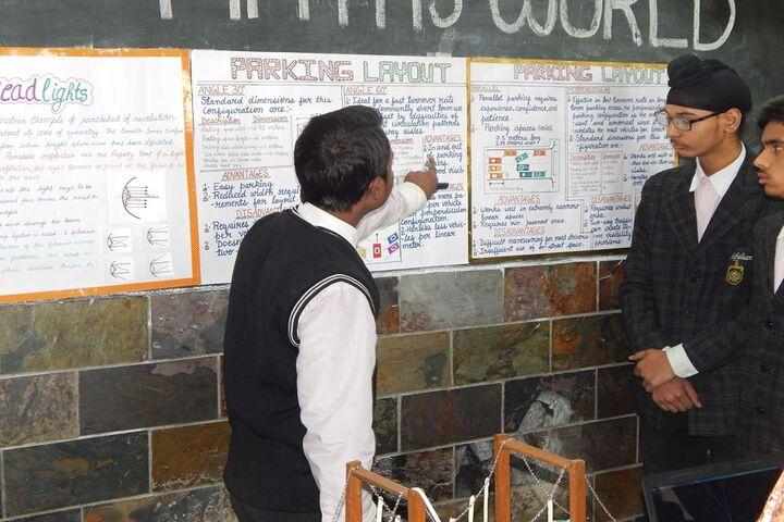 Shifaly International School-Science Exhibition
