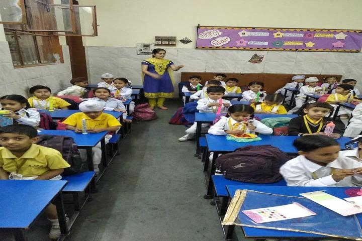 Shiv Jyoti Public School-Classroom