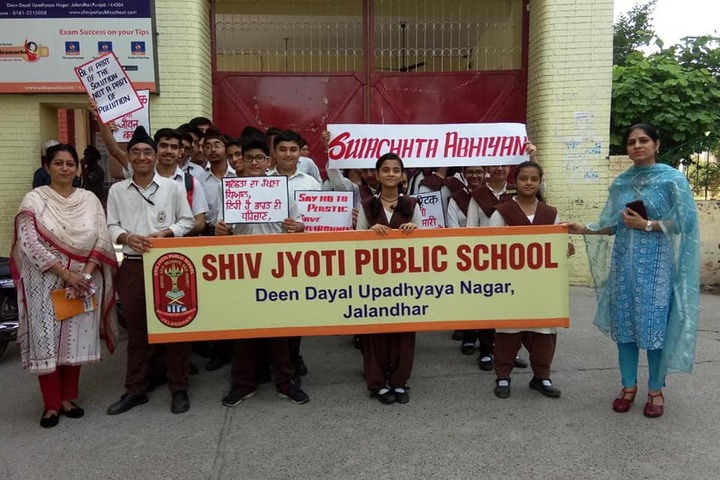 Shiv Jyoti Public School-Rally
