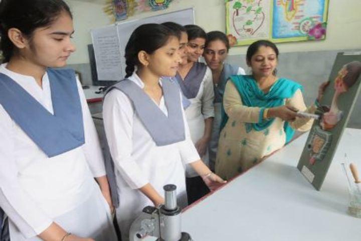 Shivalik Public School-Biology Lab