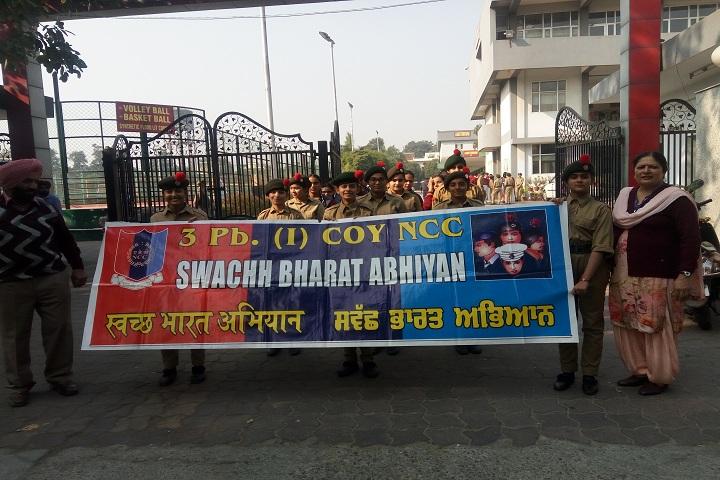 Shivalik Public School-NCC Day