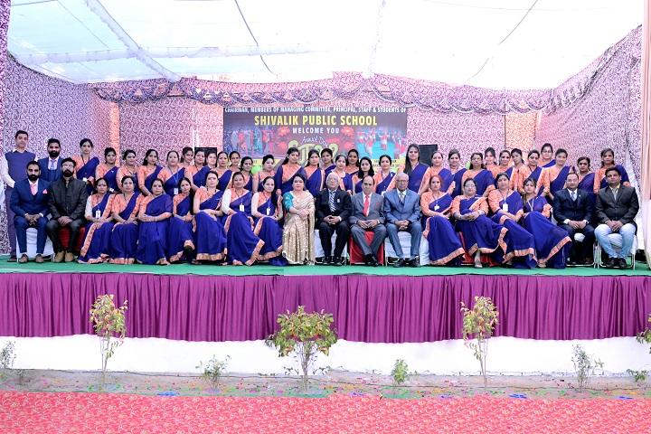 Shivalik Public School-Staff