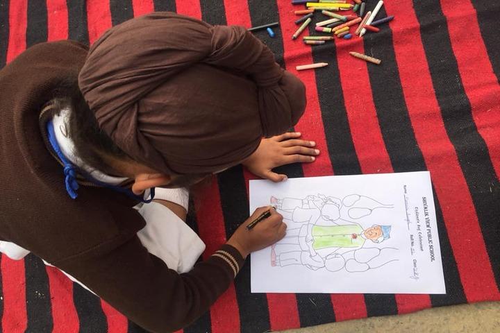 Shivalik View Public School-Drawing