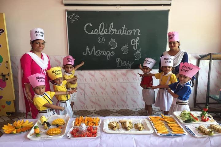 Shivalik View Public School-Mango Day