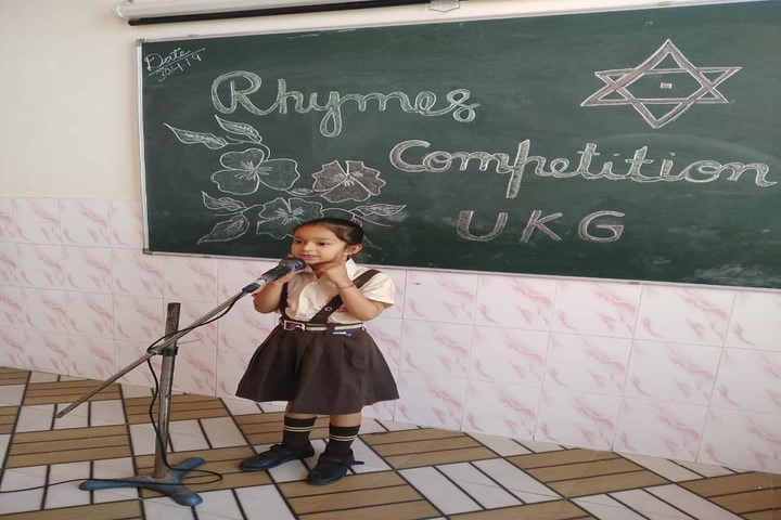 Shivalik View Public School-Rhymes Compitition