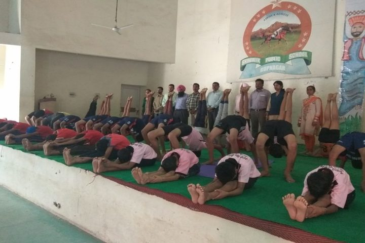 Shiwalik Public School-Yoga Day