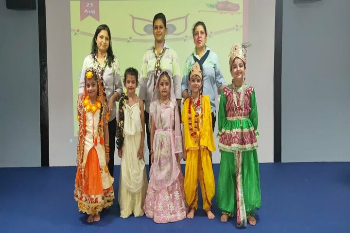 Shree Hanumat International Public School-Festival Celebration