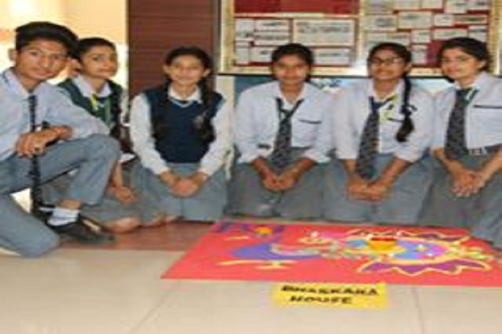 Shree Hanumat International Public School-Rangoli Competition
