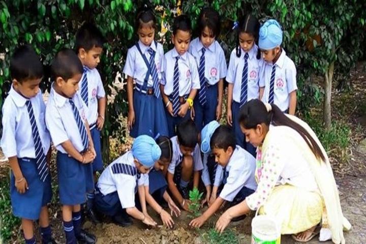 Shri Guru Angad Dev Public School-Plantation