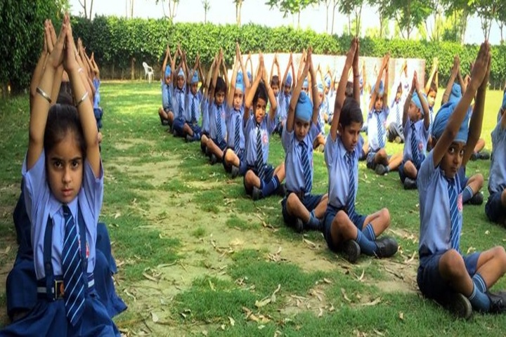 Shri Guru Angad Dev Public School-Yoga