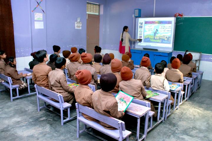 Shri Guru Angad Dev Public School-Class Room